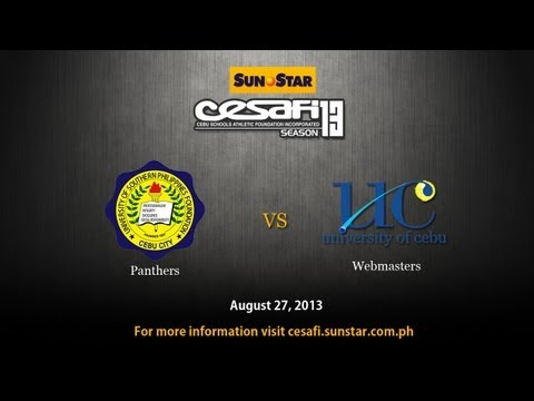 UC Webmasters VS. USPF Black Panthers - August 27, 2013