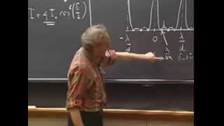 Lec 21: Diffraction, Angular Resolution | 8.03 Vibrations and Waves (Walter Lewin)