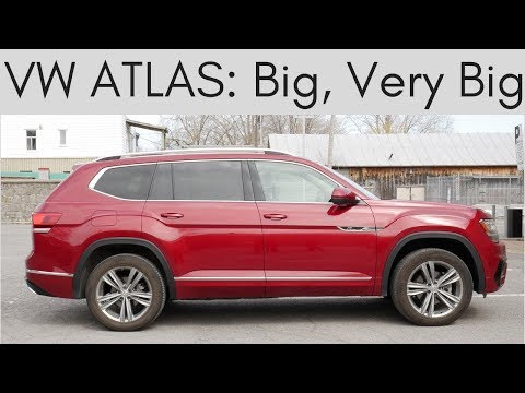 2019 Volkswagen Atlas Review | so big