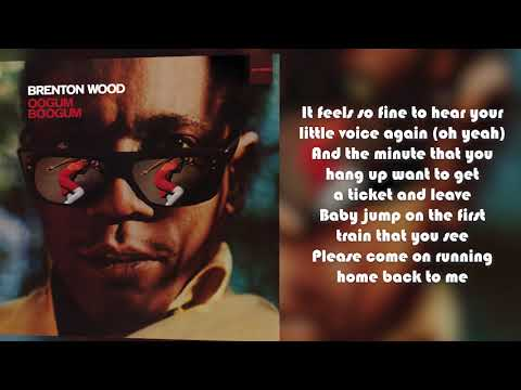 Brenton Wood - Come Here Girl From Oogum Boogum (Lyric Video)