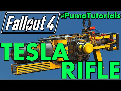 FALLOUT 4: Unique Weapons Guide - How to get the Tesla Rifle #PumaTutorials