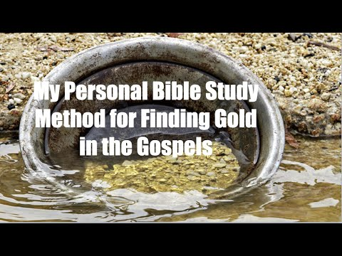 Week-0: MY PERSONAL BIBLE STUDY METHOD TO ALWAYS FIND TREASURES IN THE GOSPELS from YouTube · Duration:  36 minutes 15 seconds