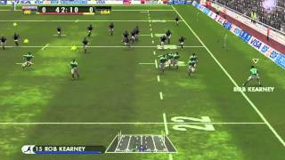 Rugby 08 Gameplay: Road to the Rugby World Cup!! Ireland vs USA!!! (Episode 1)