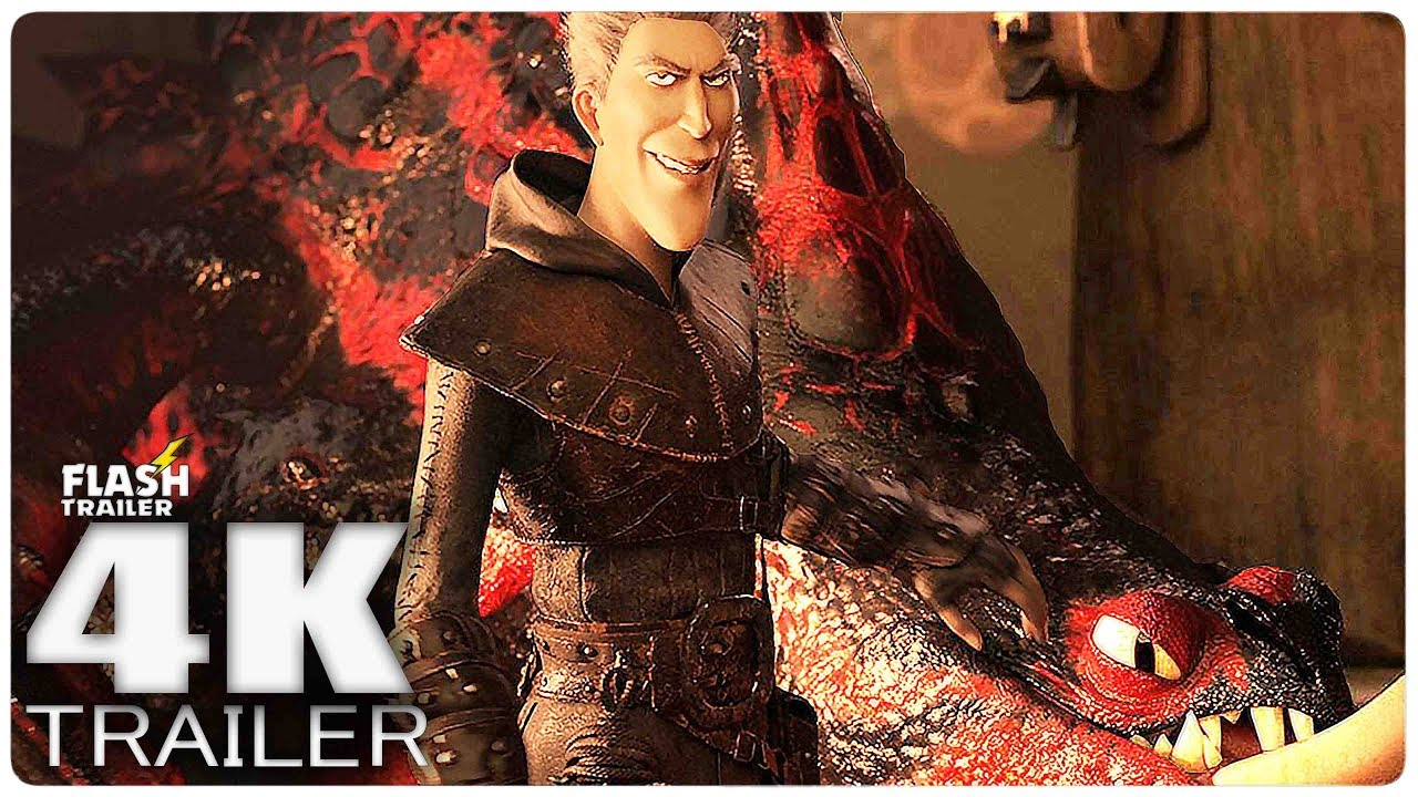 HOW TO TRAIN YOUR DRAGON 3 Trailer 2 (2019) 4K Ultra HD