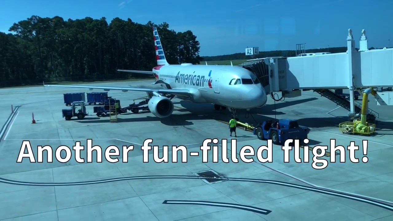 American Airlines A319 Charlotte To Myrtle Beach Youtube