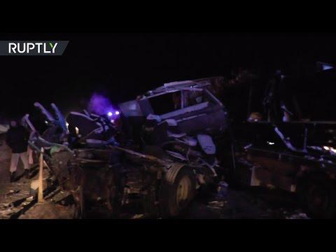 10 фактов о страшном ДТП с автобусом и грузовиками в ХМАО