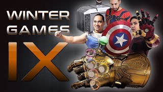The 9th Annual Winter Games: Marvel Minute to Win It (2018)