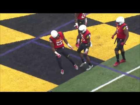 Antoine Brooks Interception - Maryland Spring Football