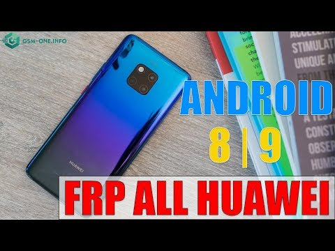 "FREE | FRP ALL HUAWEI ANDROID 8 | 9 NOT "" help and feedback"" & "" app not installed"""