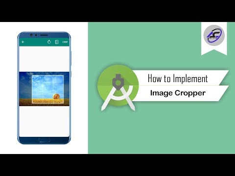 How To Implement Image Cropper In Android Studio | ImageCropper | Android Coding