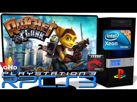 RPCS3 0 0 6 [PS3 Emulator] - Ratchet & Clank HD [Gameplay] Xeon E5