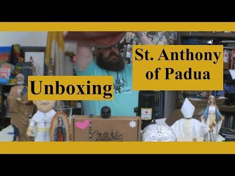 Catholic T-Shirt Club Unboxing: St. Anthony of Padua