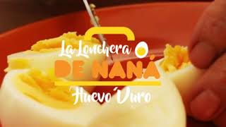 Lonchera de Naná: Huevo duro