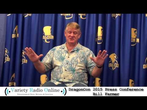 Bill Farmer - Dragon Con 2015