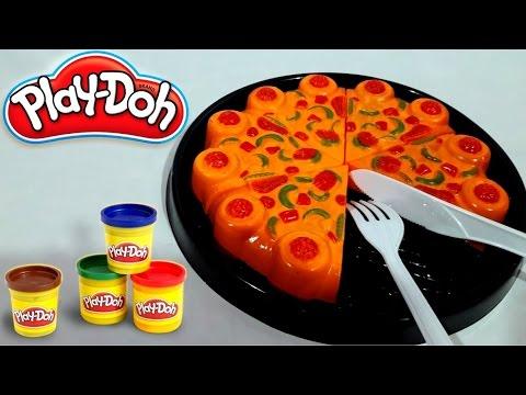 Main Masak Masakan Membuat Pizza Pizza Mainan Play Doh Fun Doh Jenica Youtube