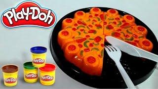 Main MASAK MASAKAN 💖 Membuat PIZZA 💖 PIZZA Mainan Play Doh 💖 Fun Doh 💖 Jenica