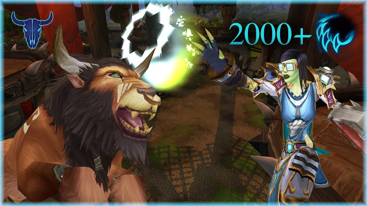 Old Comp New Priest Part 2 2000 Feral Druid 2v2 Youtube
