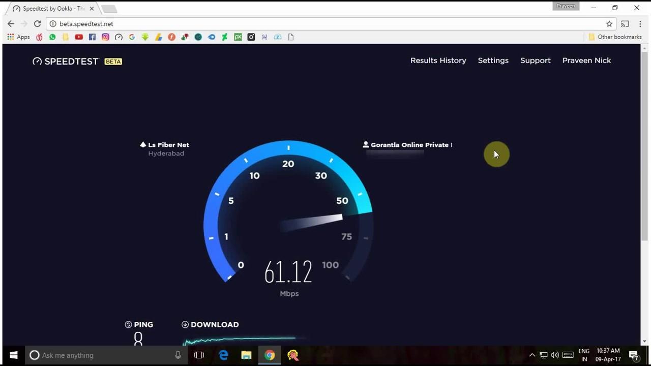 apple fiber net speedtest youtube