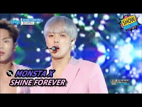 [HOT] MONSTA X - SHINE FOREVER, 몬스타엑스 - 샤인 포에버 Show Music core 20170701