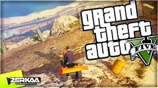 MOWING DOWN THE MOUNTAIN | GTA 5 Funny Moments | E566 (GTA 5 PS4)
