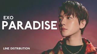 EXO - Paradise | Line Distribution