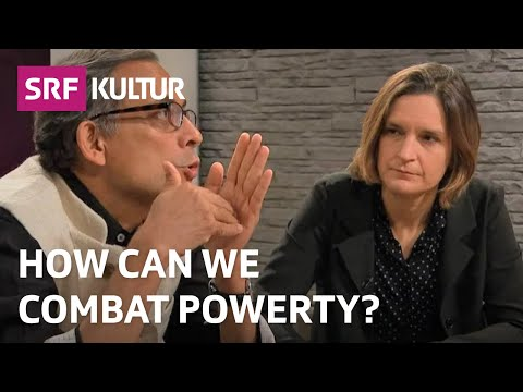 Esther Duflo and Abhijit Banerjee on «Using Testing to Combat Poverty» (SRF Sternstunde Philosophie)