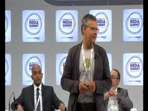 "Abu Dhabi Media Summit 2012: ""Everyone's Talking"", new media, new world"