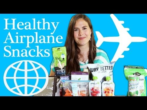 Healthy Airplane Snacks