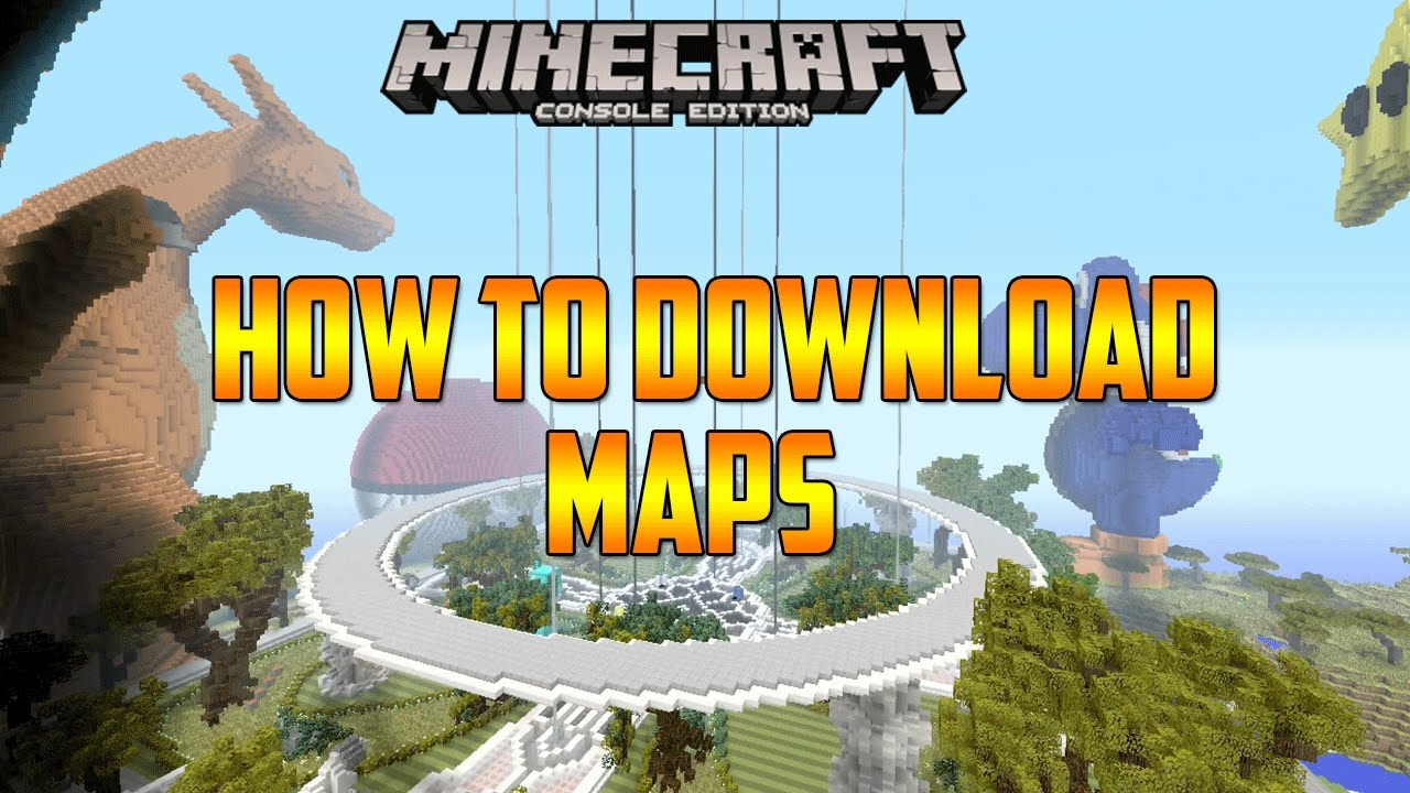 Minecraft Xbox 360 How To Download Maps (Working) - YouTube