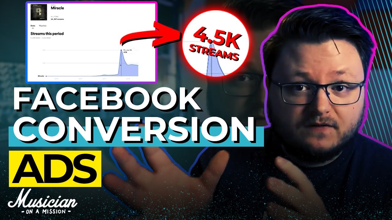 Facebook Conversion Ads (How to Get MORE SPOTIFY STREAMS)