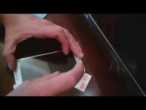 Как правильно и идеально, самому наклеить стекло пленку на телефон смартфон