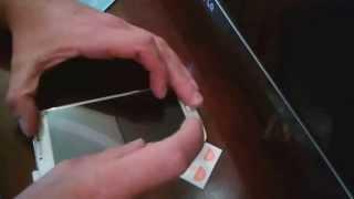 Как правильно и идеально, самому наклеить стекло пленку на телефон смартфон(, 2014-11-02T13:19:21.000Z)