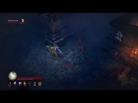 【PS4】【高画質】ディアブロⅢ  リーパーオブソウルズ #23  × 狭いとこでうじゃうじゃとw (Diablo III Reaper of Souls Ultimate Evil Edition)