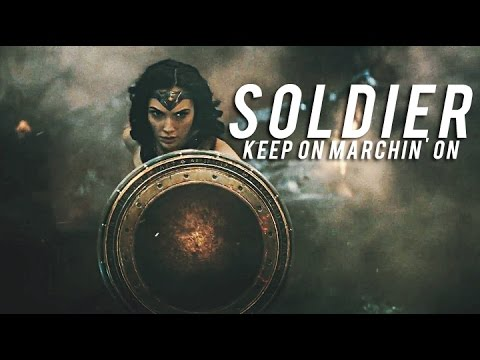 ► Diana Prince |  Keep on marchin