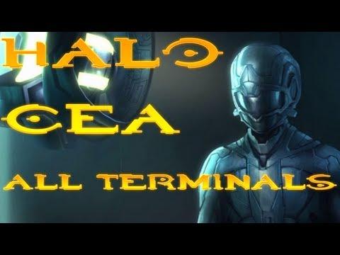 Halo Anniversary: All Terminals + Secret Terminal [HD]