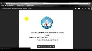 Program Kerja Kegiatan Ppdb Psb Sd Smp Sma 2018 2019