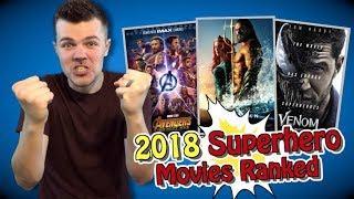 All 9 2018 Superhero Movies Ranked