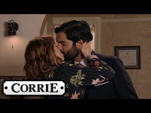 Coronation Street - Imran Cheats With Toyah Behind Leanne's Back