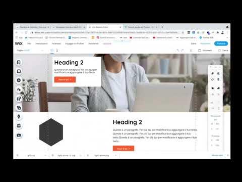 Realizza un buon sito web con Wix in meno di 2 ore - Tutorial - web design
