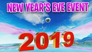 *LEAKED* New Year's Eve EVENT SOUND - Disco Ball IS ON THE MAP - FORTNITE EVENT