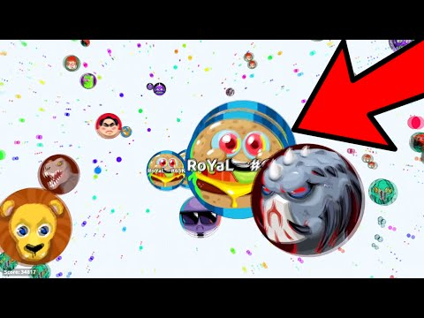 Agar.io - BIGGEST AUTO-SPLIT CANNONSPLIT FAIL EVER?!