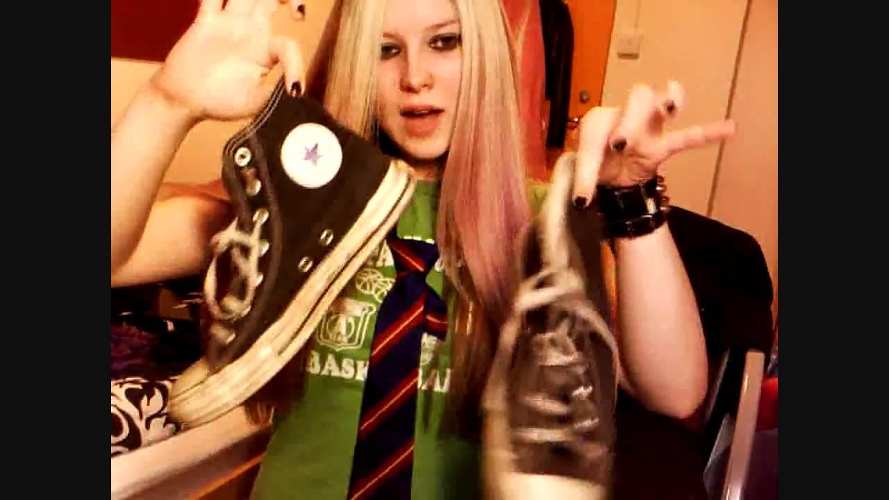 Avril Lavigne Sk8er Boi Tutorial Make Up Hair And Clothing