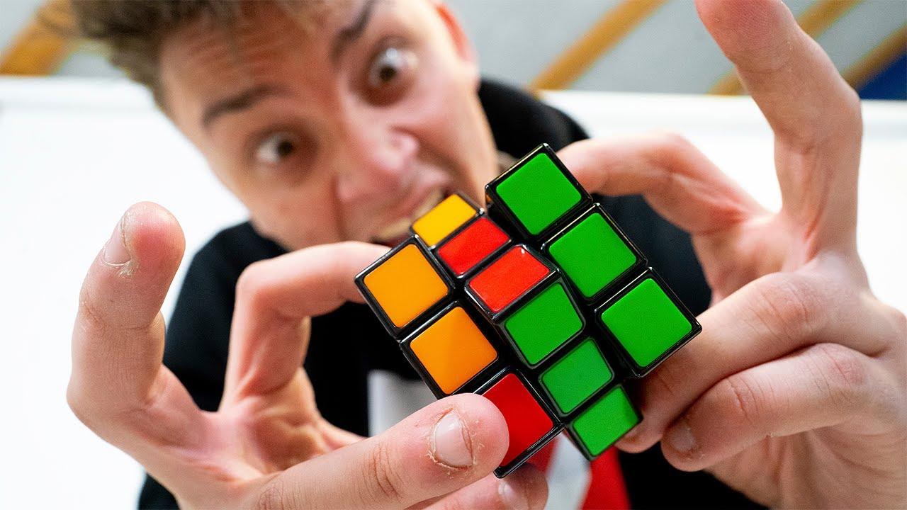 Jeg havde en uge til at lære at løse en Rubiks Cube, og dette var resultatet..