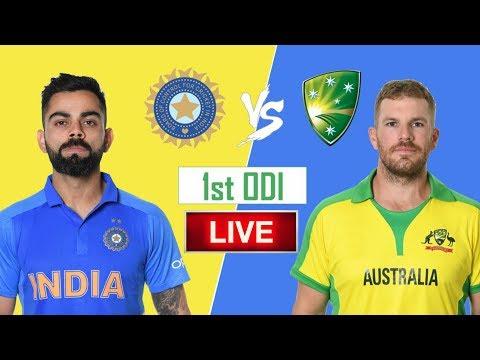 LIVE – IND Vs AUS 1st Odi Match Live Score, India Vs Australia Live Cricket Match Highlights Today