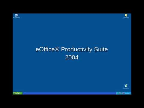 eOffice® Productivity Suite 2.0 demo 2004