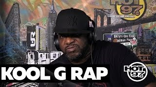 Kool G Rap Shares Rare Stories On Nas, Big Pun + 2Pac & Speaks On New Album