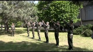 г. Слободзея 9 мая 2011г. праздничный залп
