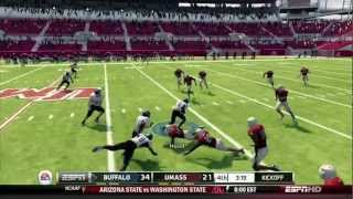 NCAA Football 13 (Xbox 360) - Buffalo at UMass (FULL GAME) [HD]