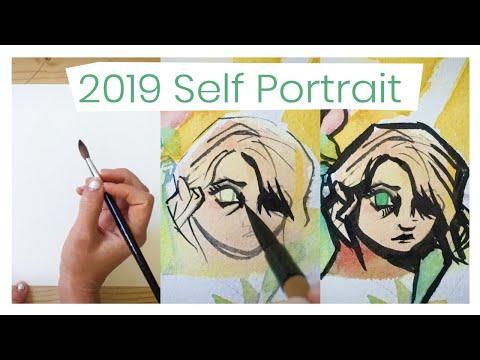 Painting My Self Portrait - 2019 Mp3