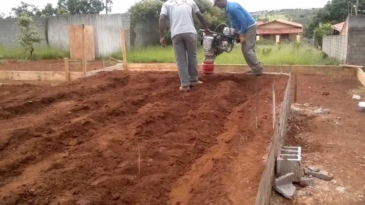 Compactação de solos. - Espaço Mecânico